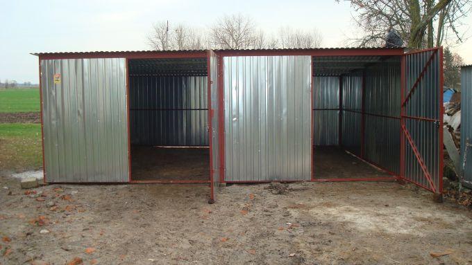 Podwójny Garaż Blaszany O Wymiarach 6x5 Producent Ogłoszenia